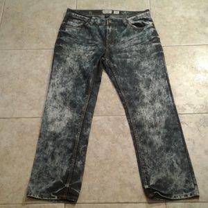 BUCKLE Decibel Dry Goods Stretch Acid Washed Jeans